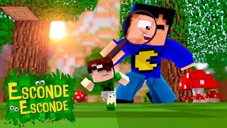 Minecraft: YOUTUBERS PEQUENOS! (Esconde-Esconde)
