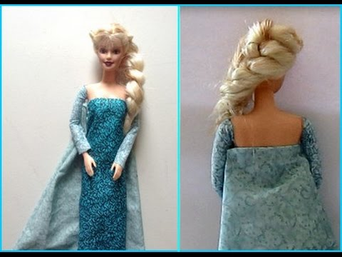 Frozen How to make your own Elsa dress