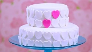 How To Make Marshmallow Fondant Decorate A Cake Bridal Shower Collab