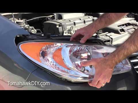 Remove & Replace Headlight Assembly - Hyundai Elantra