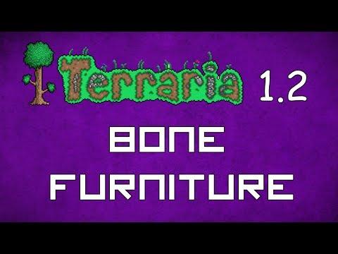 Bone Furniture - Terraria 1.2 Guide New Furniture! - GullofDoom - Guide/Tutorial