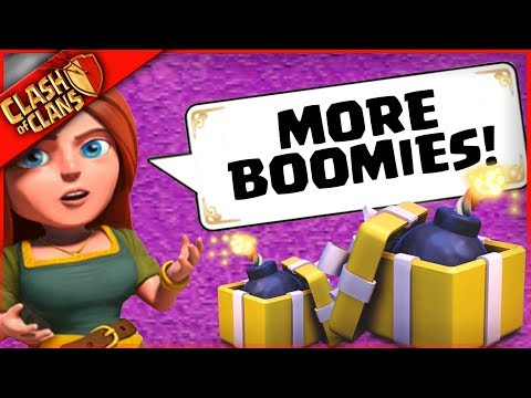 SANTA SPELL + MORE BOOMIES = ???  ▶️ Clash of Clans ◀️