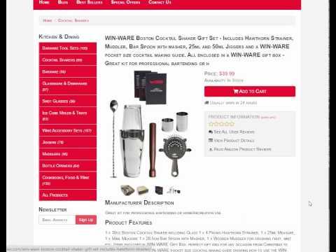 Barware Tool Sets | Bar Tools | Hot Bar Supplies