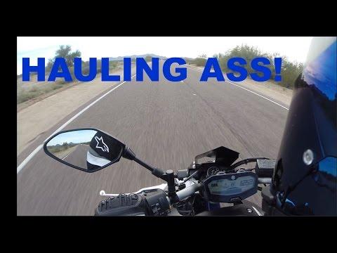 LET'S HAUL ASS  - Yamaha FZ-07