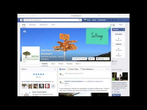How to add someone to manage your Facebook page?