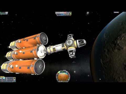 KSP-Space Race #8-Building a Space Ship (Part 2)