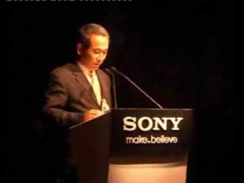 Blu-ray player Press conference Video
