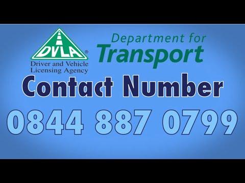 DVLA Phone Number