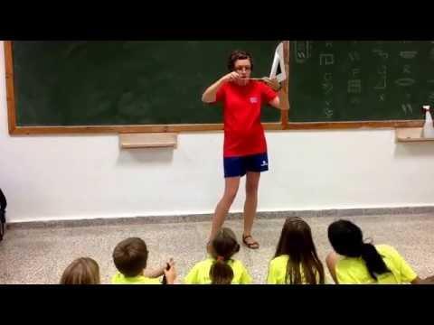 English camp 2014. Week 2. Workshop: how to make a Quipu