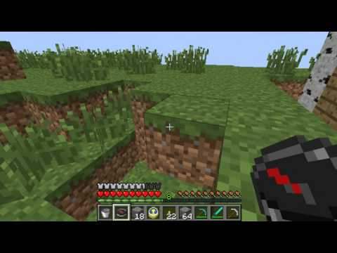 Let's Play Minecraft Part 9- How To Use A Compass And A Clock
