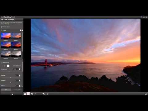 HDR Merge using Corel PaintShop Pro X4
