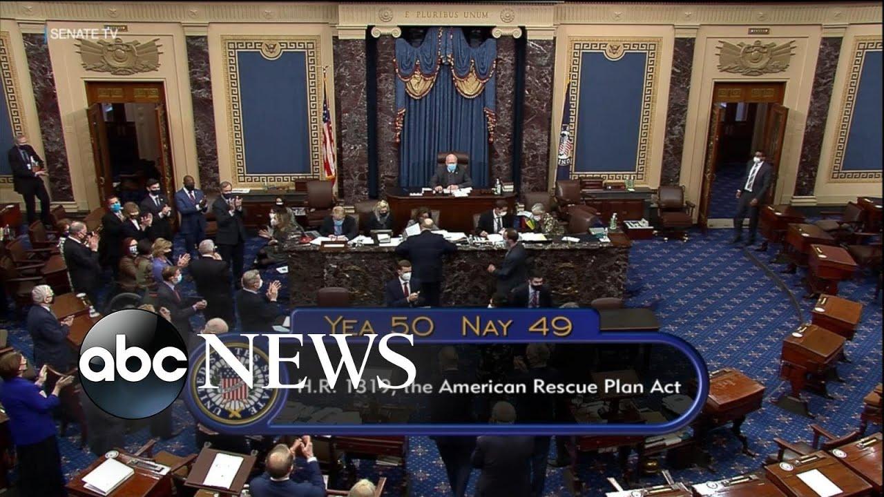 Senate passes $1.9 trillion in COVID relief | ABC News