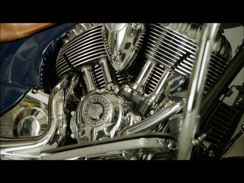 The Heart of the New Indian Motorcycle®: The Thunder Stroke™ 111
