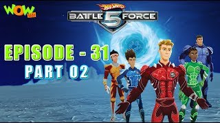 Motu Patlu presents Hot Wheels Battle Force 5 - The Power of  Resistance - S2 E31.P2 - in Hindi
