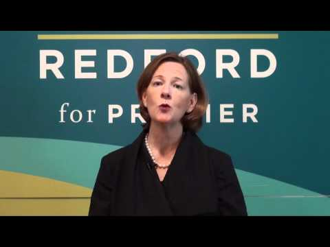 Alison Redford - What is your vision for health care in Alberta?