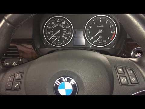 Set or Change Time and Date BMW E90 E91 E92 E93 E60 E61 E87 E70