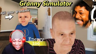 DYING OF LAUGHTER FROM THIS GAME | Granny Simulator (w/ Dashie)