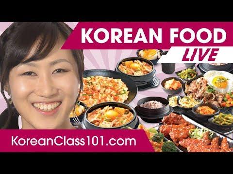 Top 5 Korean Foods + Secret Restaurants🔴 | Learn Korean LIVE @1pm KST on Thu.