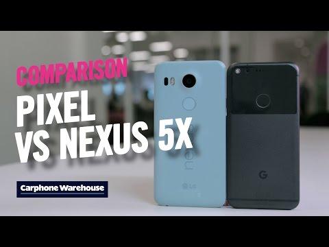 Google Pixel vs Nexus 5X