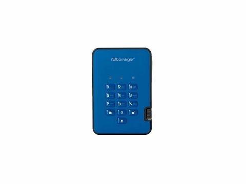 ✅iStorage diskAshur2 512GB Hardware Encrypted Portable SSD Review