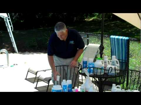 5 Keys to Pool Care - 5. Pool Chemicals, ParPools.com