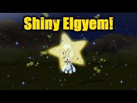 SHINY Elgyem 197 Encounters! Pokemon Ultra Sun & Ultra Moon!