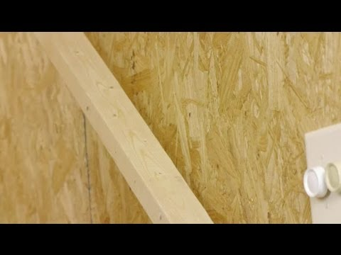 How to Build a Simple Wood Rail for Stairs to a Basement : Woodworking Tips