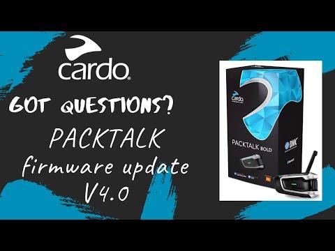 Cardo- Firmware update 4.0