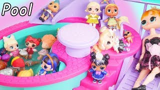 Download LOL Surprise Doll Pool Party | Open Under Wraps Makeover Series 5 with Barbie Video