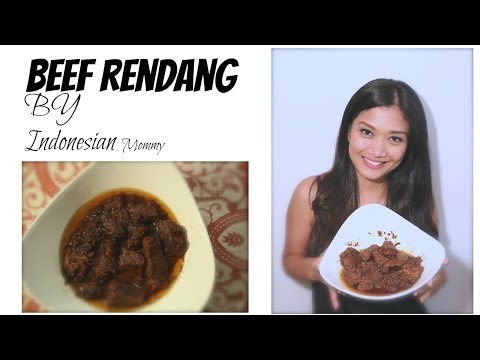 RENDANG PADANG    BEEF RENDANG    COOKING WITH INDONESIAN MOMMY