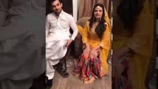 Faysal Quraishi facebook live l On set of waada l 09/01/2017