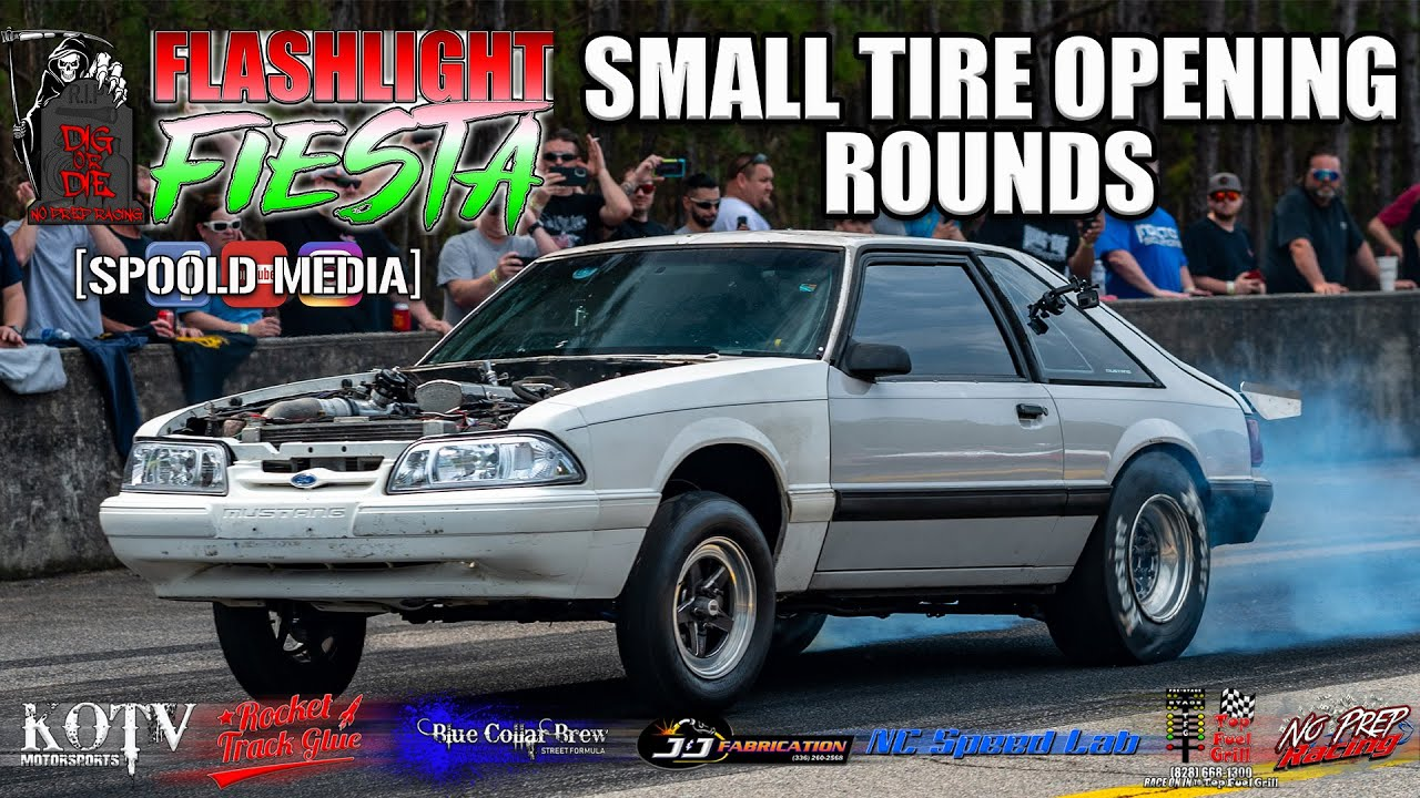 $30,000+ SMALL TIRE OPENING ROUNDS FROM DIG OR DIE FLASHLIGHT FIESTA AT ROCKINGHAM!!!!!!!