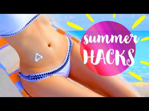 11 DIY Summer Life Hacks EVERYONE Should Know!!!