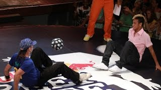 Neymar perde para francês no futebol freestyle
