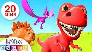 Download We Are The Dinosaurs, Yum Yum Vegetables, Where is my Fin +More Kids Songs by Little Angel Video