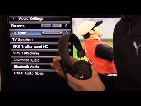 5 WAYS TO CONNECT TV to WIRELESS HEADSETS / HEADPHONES