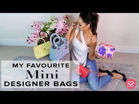 MY FAVOURITE MINI DESIGNER BAGS | Sophie Shohet