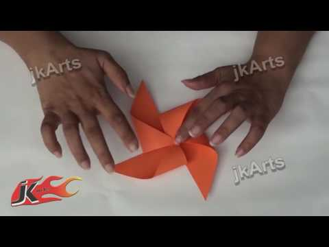 How to make Paper Toy Windmill Easy craft for kids