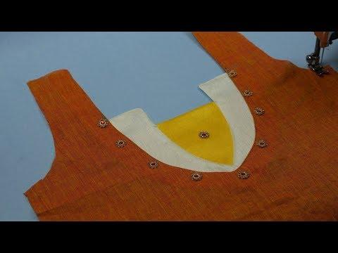 Kurti Neck Design Cutting & Stitching, Latest Kurti Neck Design Cutting & Stitching