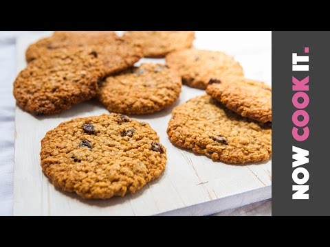 How To Make The Best Oatmeal Raisin Cookies | Now Cook It