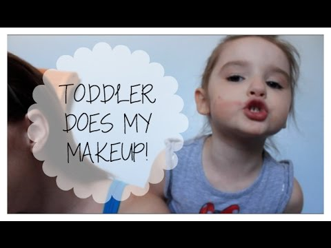 TODDLER DOES MY MAKEUP! | COLLAB | #YTMM