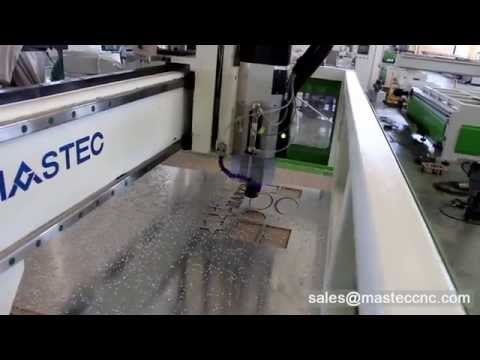 Linear ATC CNC Router for Aluminum Cutting