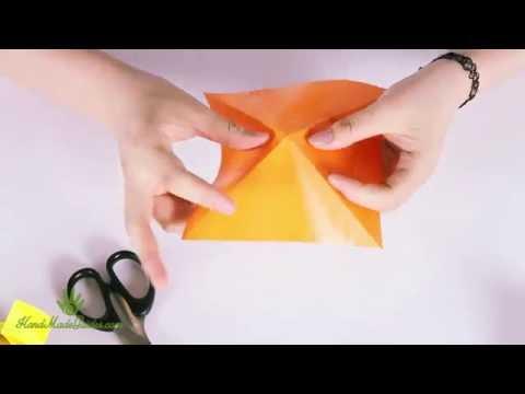 [Handmade Guides] Make paper flappy bird - Origami Art