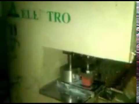 Motorised Pad Printing Machine For Nail Polish Bottles
