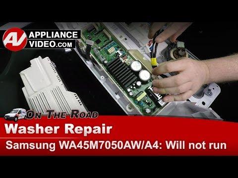 Samsung Washer - Will not start or run - PCB Main control circuit board - Diagnostic & Repair