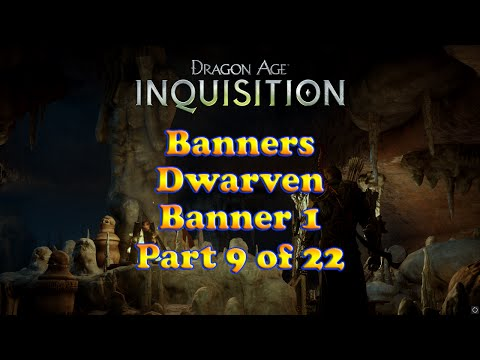 Dragon Age: Inquisition - Dwarven Banner 1 - Banners Collection - Skyhold Customizations