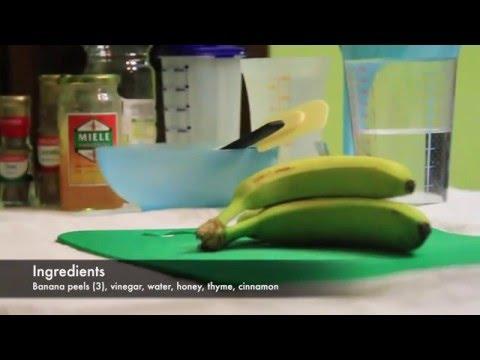 Bioplastic from banana peels