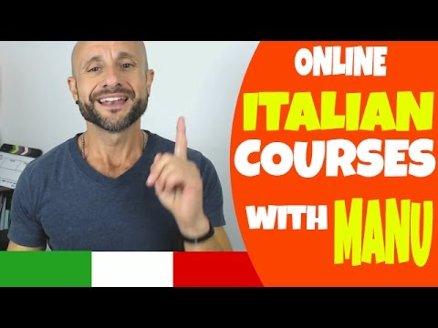 Learn Italian Phrases, Grammar and Culture - ONLINE COURSES PROMO [Ask Manu Italiano]