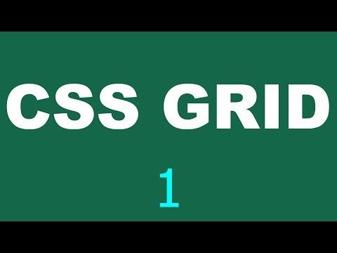 CSS Grid Tutorial - 1 - First setup