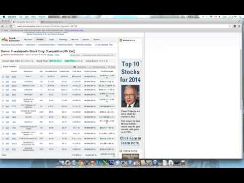 Best Free Stock Trading Game Online